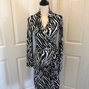 DVF Diane von Furstenberg New Jeanne 2 Wrap Dress